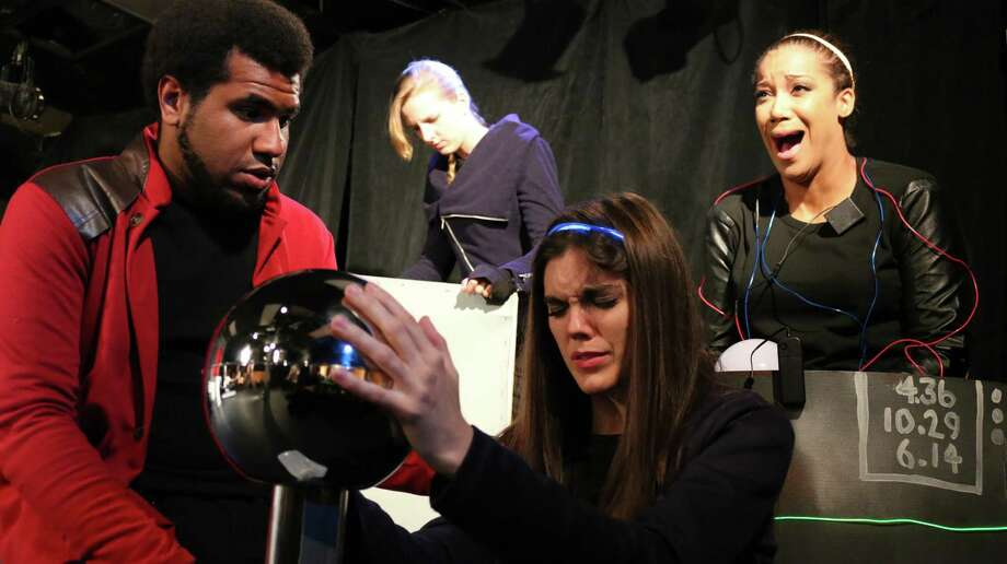 "The sci-fi serial ""Rift Riders"" is returning for its second season at the Overtime Theater. Photo: /Courtesy Michael Burger"