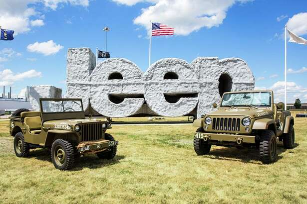 Jeep brand celebrates its 75th anniversary with a commemorative Wrangler 75th Salute Concept Vehicle.