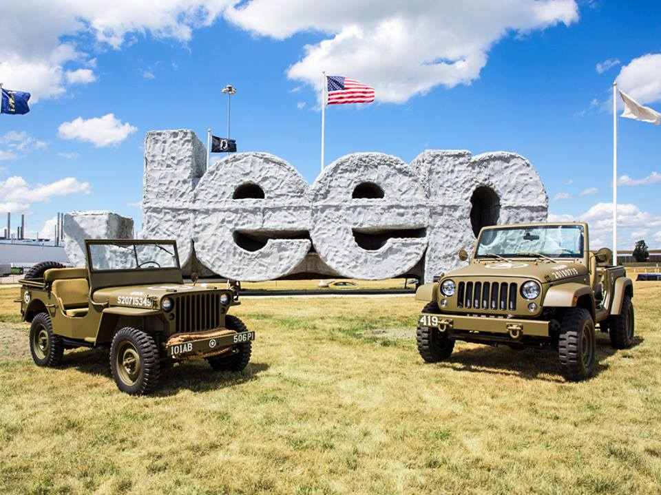Jeep celebrates anniversary with new military-themed concept vehicle