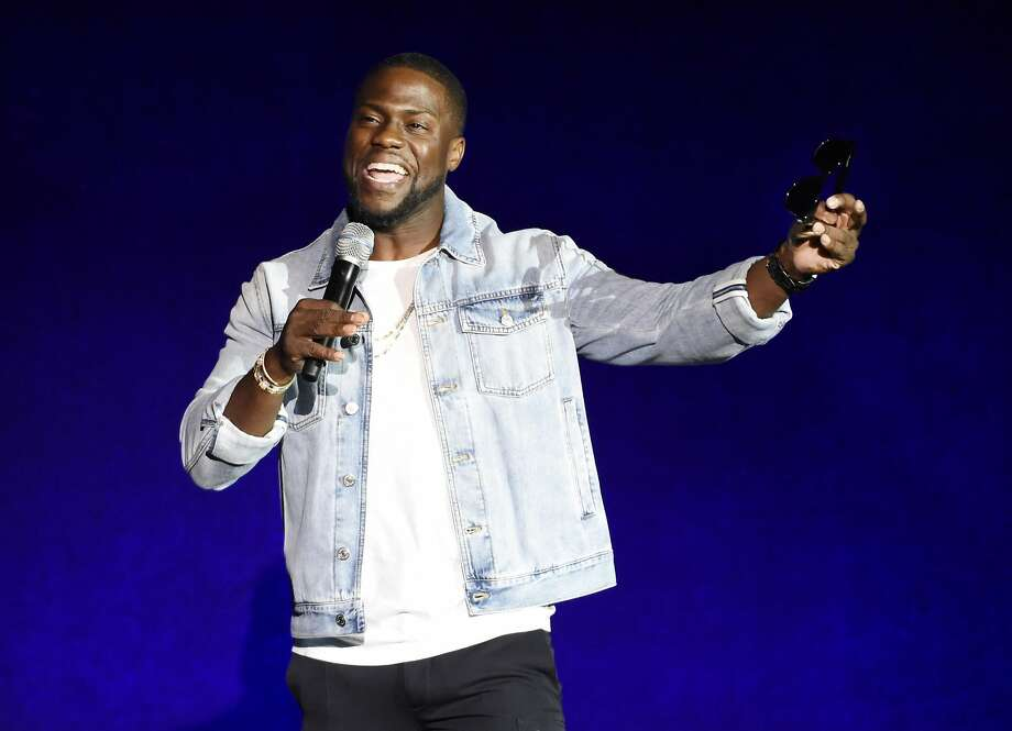 Kevin Hart's shows at Concord Pavilion and Stockton Arena almost qualify as intimate. Photo: Chris Pizzello, Chris Pizzello/Invision/AP