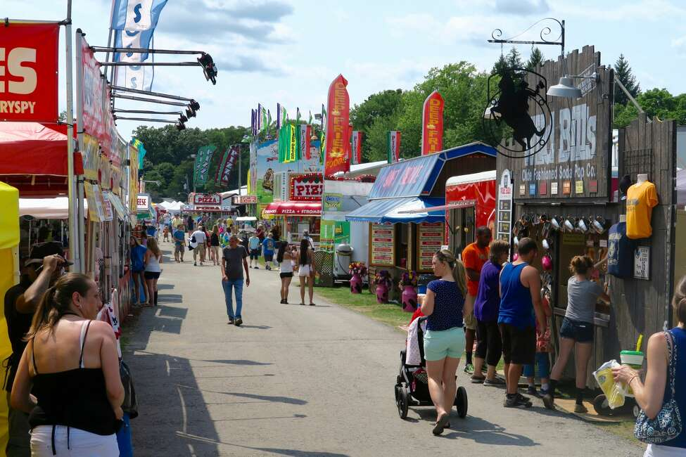 175th Saratoga County Fair. Classic carnival fun is just around the bend in Saratoga County. Here are some highlight events:tractor pulls, cow shows, magicians, pig racing,hypnotists,live music, demolition derby, beauty pageants, horse shows and much more.When: Now through Sunday, July 24, 9 AM to midnight.Where: Saratoga County Fairgrounds, 162 Prospect Street, Ballston Spa. For more information, visit the website.
