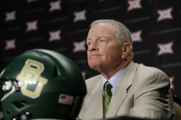 After saying Baylor doesn't have a culture of bad behavior, coach Jim Grobe clarified that he hasn't seen it in his brief tenure.