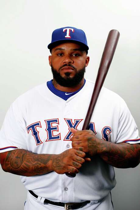SURPRISE, AZ - FEBRUARY 28:  Prince Fielder #84 of the Texas Rangers poses during a spring training photo shoot on February 28, 2016 in Surprise, Arizona.  (Photo by Jamie Squire/Getty Images) Photo: Jamie Squire, Staff / 2016 Getty Images