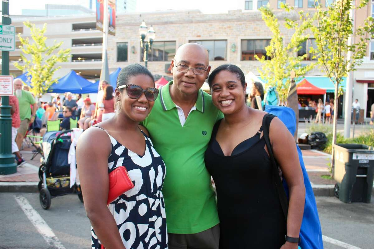 George Benson entertained the crowd at Stamford's Columbus Park with some jazz, pop, R&B and scat music during Wednesday Nite Live! on July 20, 2016. Were you SEEN?