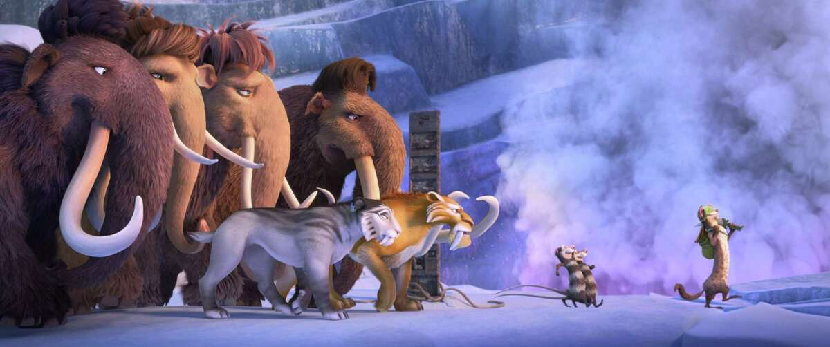 """A still from the haphazard """"Ice Age: Collision Course."""""""
