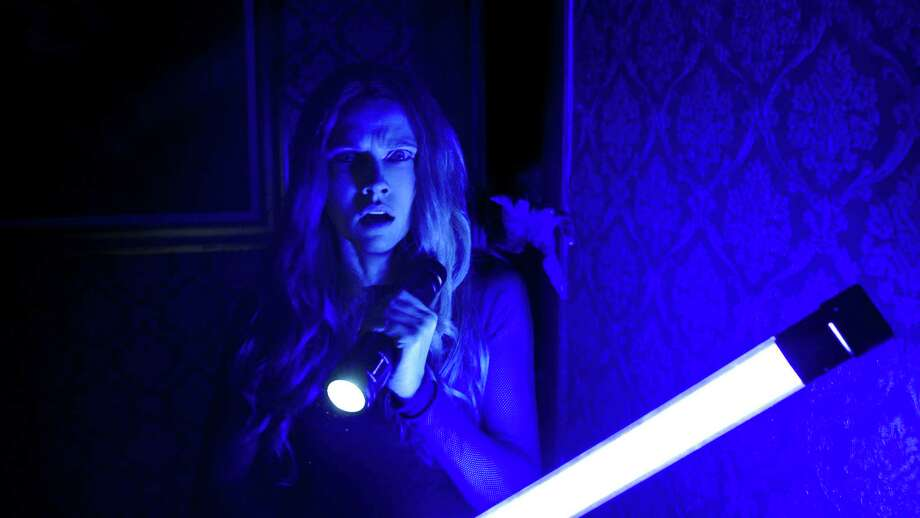 """Theresa Palmer in """"Lights Out."""" (Warner Bros. Pictures) Photo: Courtesy Of Warner Bros. Picture, HO / TNS / TNS"""