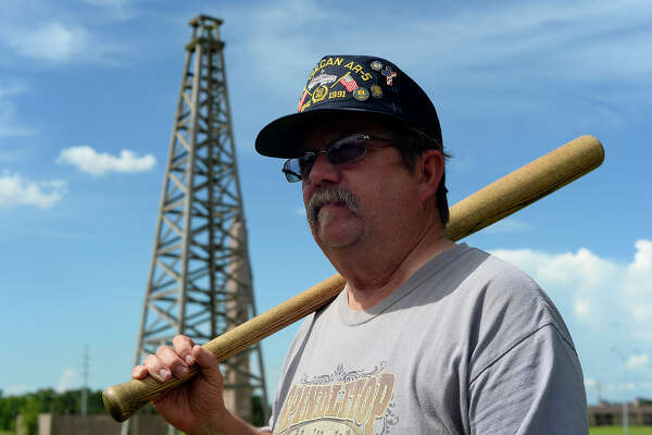 Don Smart is hoping to start a vintage baseball team in Beaumont, which will play at the Spindletop-Gladys City Boomtown Museum.  Photo taken Tuesday 7/19/16 Ryan Pelham/The Enterprise