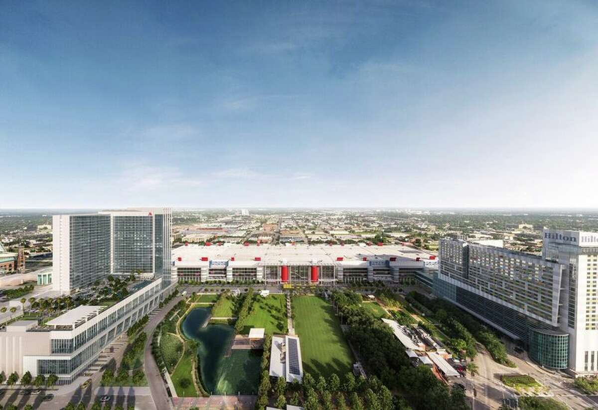 Renderings show the soon-to-be new series of restaurants in Downtown Houston's convention center.