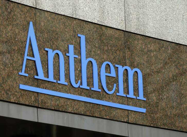 Anthem told analysts it is preparing to fight the government's move to block its deal with Cigna, and the company said its participation in the government's health insurance exchanges may be at stake.