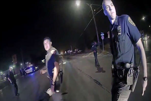 Houston Mayor Sylvester Turner released videos Thursday, July 21, 2016 from the fatal police shooting of Alva Braziel earlier this month that show the man still holding the gun in his hand after being shot in the street by police.
