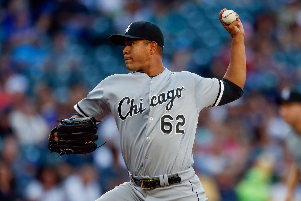 Jose Quintana, SP, White Sox This is a little more realistic than trying to trade for Chris Sale, but the price would still be extremely high. The 27-year-old is having an All-Star season and is under an extremely reasonable contract ($38 million for the next four years) through 2020. He'd immediately be one of the Astros' top two pitchers - if not the ace - but the White Sox would probably still ask for Bregman or just about every Astros top prospect after Bregman.