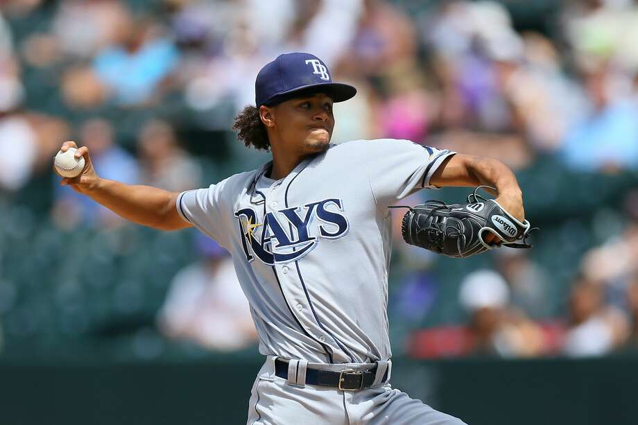 Chris Archer, SP, RaysArcher is having a down season (5-14, 4.42 ERA), but he was one of the American League's most dominant starters last season. Even though he hasn't been effective, he's still averaging 10.7 strikeouts per nine innings. The Rays will be asking a lot for the 27-year-old righthander, because he's under team control through 2021. Photo: Justin Edmonds/Getty Images
