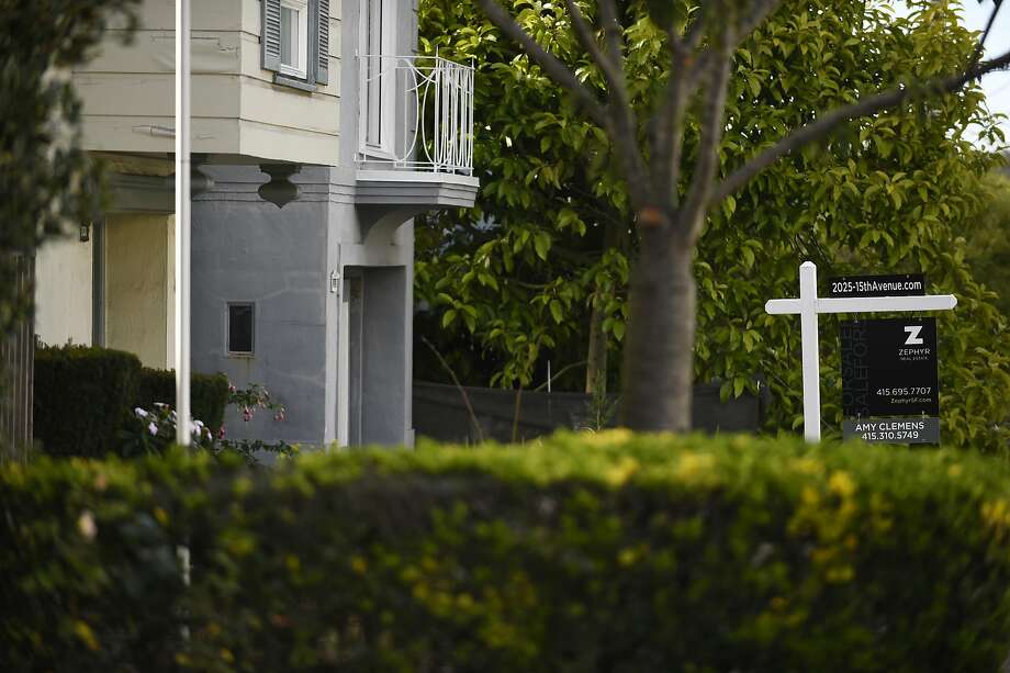 For sale sign outside of a home on 15Th Ave on Wednesday, July 20, 2016 in San Francisco, California. Photo: Michael Noble Jr., The Chronicle