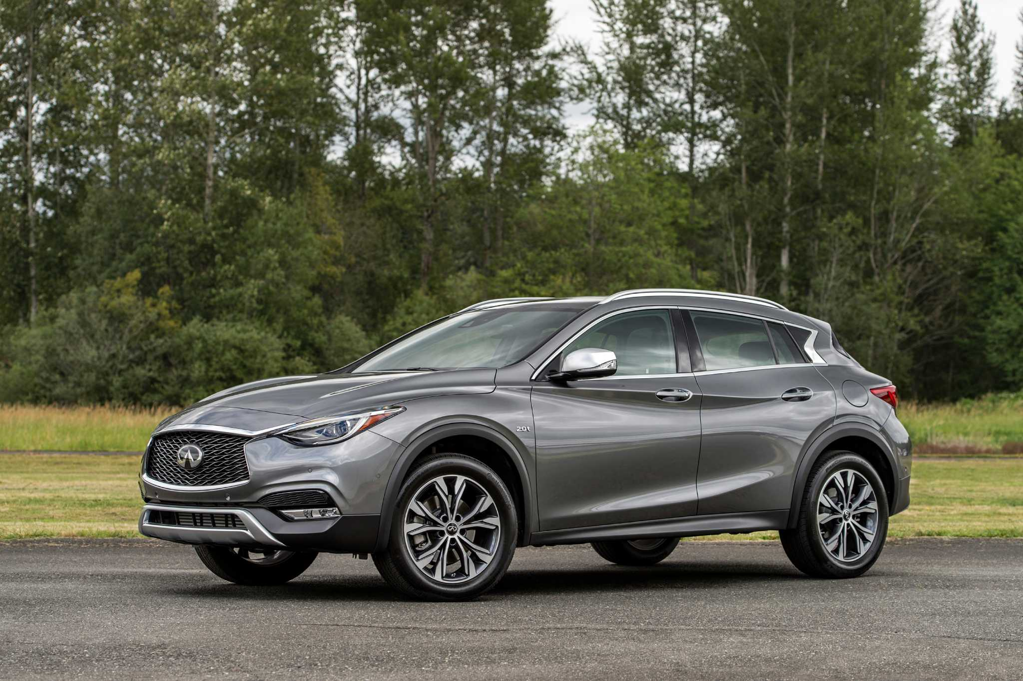 Infiniti jumps into hot compact crossover market with stylish QX30