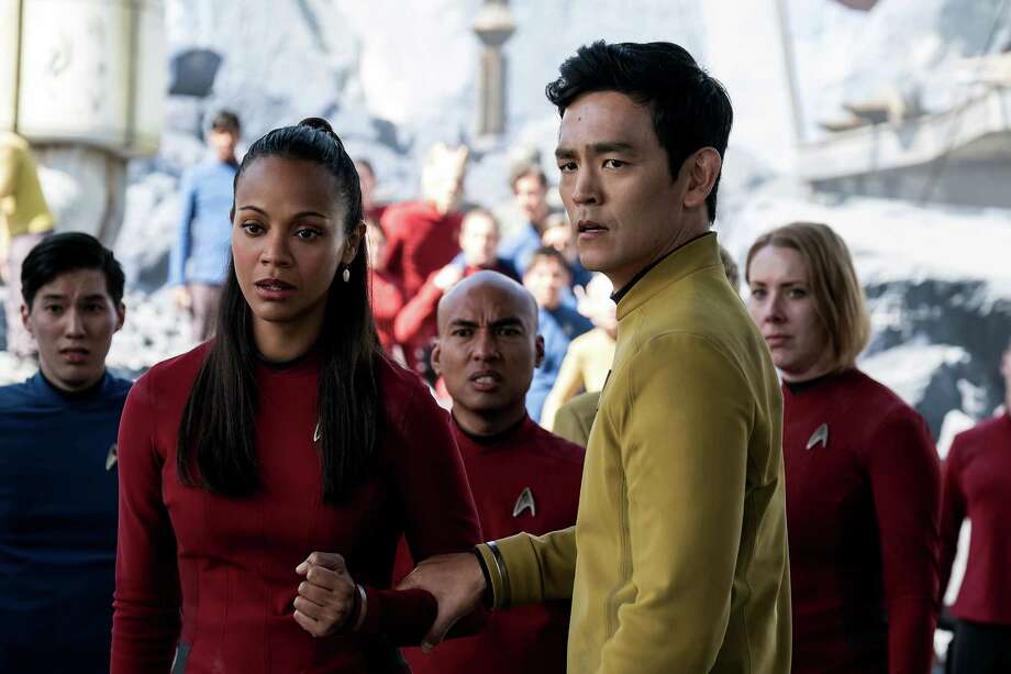 How's this for some work wardrobe inspiration? Photo: Kimberley French, HONS / © 2016 Paramount Pictures. All Rights Reserved. STAR TREK and all related marks and logos are trademarks of CBS Studios, Inc.
