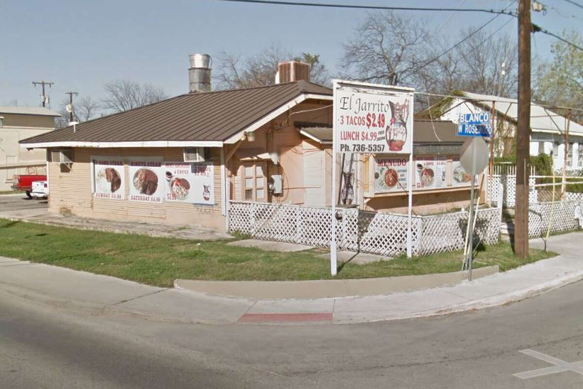 El Jarrito Café: 2014 Blanco Road, San Antonio, Texas 78212Date: 07/21/2016 Score: 59Highlights: Food not protected from cross contamination (shelled eggs and raw meat stored over ready-to-eat foods), food not cooled properly, in-use utensils/wares dirty to sight and touch, employees did not wash their hands properly, no Certified Food Manager (CFM) present at time of inspection, employees' medications found near food prep areas