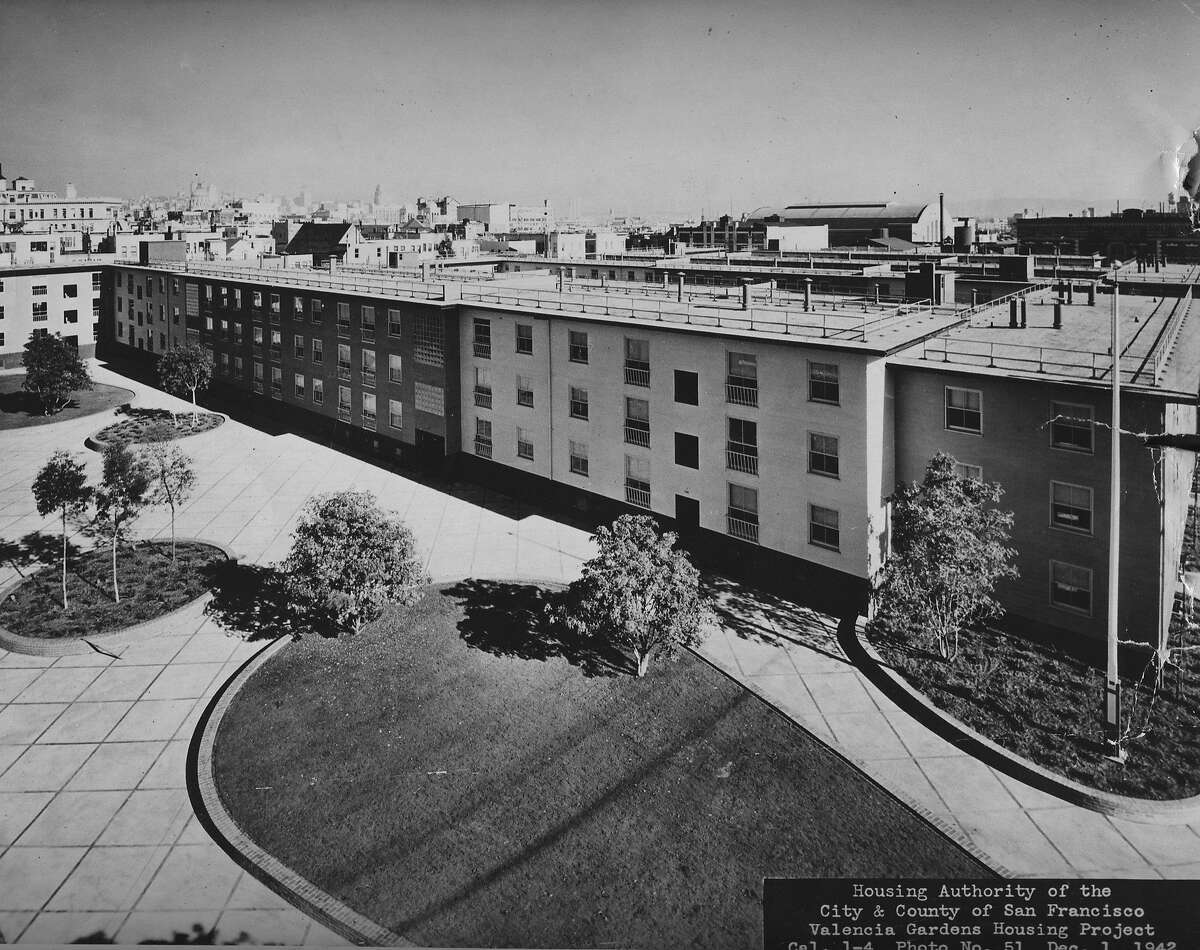 Valencia Gardens, low income housing project in San Francisco, December 1942 Handout