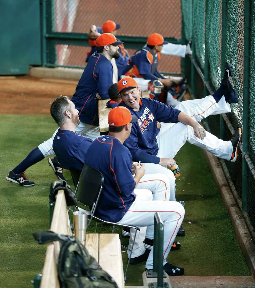The Astros' closer role will be a revolving door until Ken Giles gets back from paternity leave. Photo: Karen Warren, Staff / © 2016 Houston Chronicle