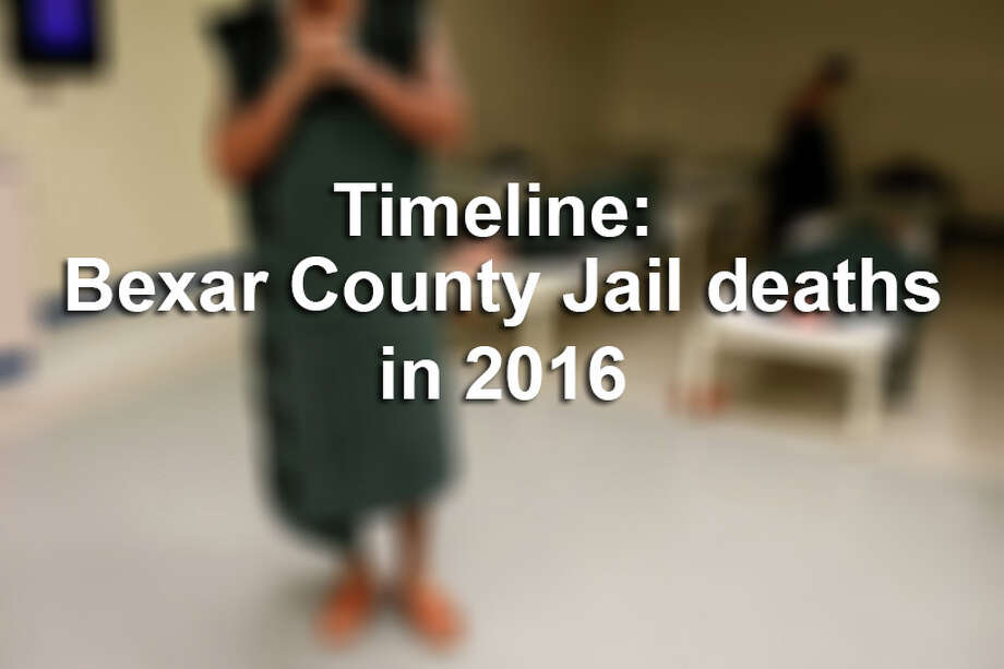 2016 was a shocking year for inmate deaths at the Bexar County Jail. At least five inmates died, from suicide or natural causes, in a span of four weeks. / © 2016 San Antonio Express-News