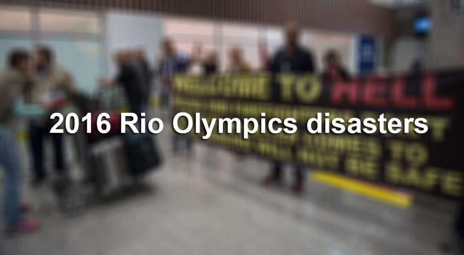 2016 Rio Olympics disasters Photo: VANDERLEI ALMEIDA, AFP/Getty Images