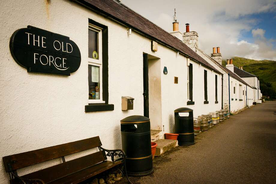 The Old Forge in Inverie is the most remote pub on the British mainland. Photo: Jill K. Robinson, Special To The Chronicle