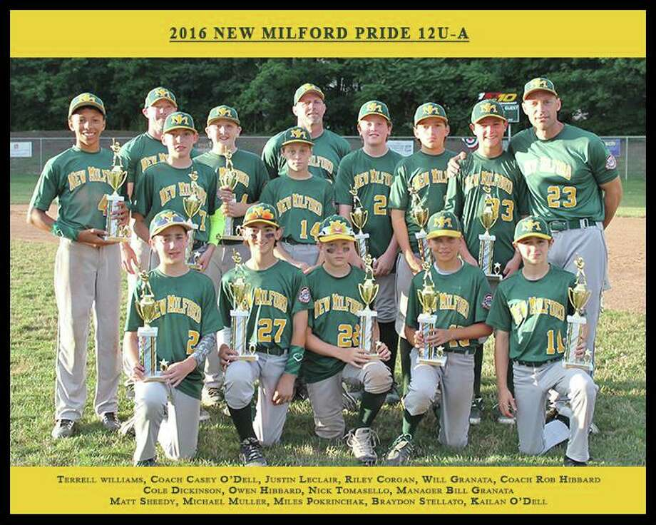 The New Milford Pride baseball team is headed to Aberdeen, Maryland, June 29 to represent New England in the Cal Ripken World Series. Photo: /