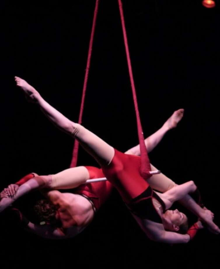 The Nimble Arts Circus will perform on the Danbury Green on Saturday. Photo: Contributed Photo