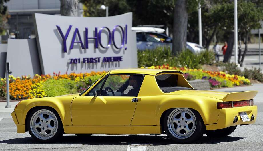 A motorist drives in front of the Yahoo sign at the company's headquarters Tuesday, July 19, 2016, in Sunnyvale, Calif. Photo: Marcio Jose Sanchez, Associated Press