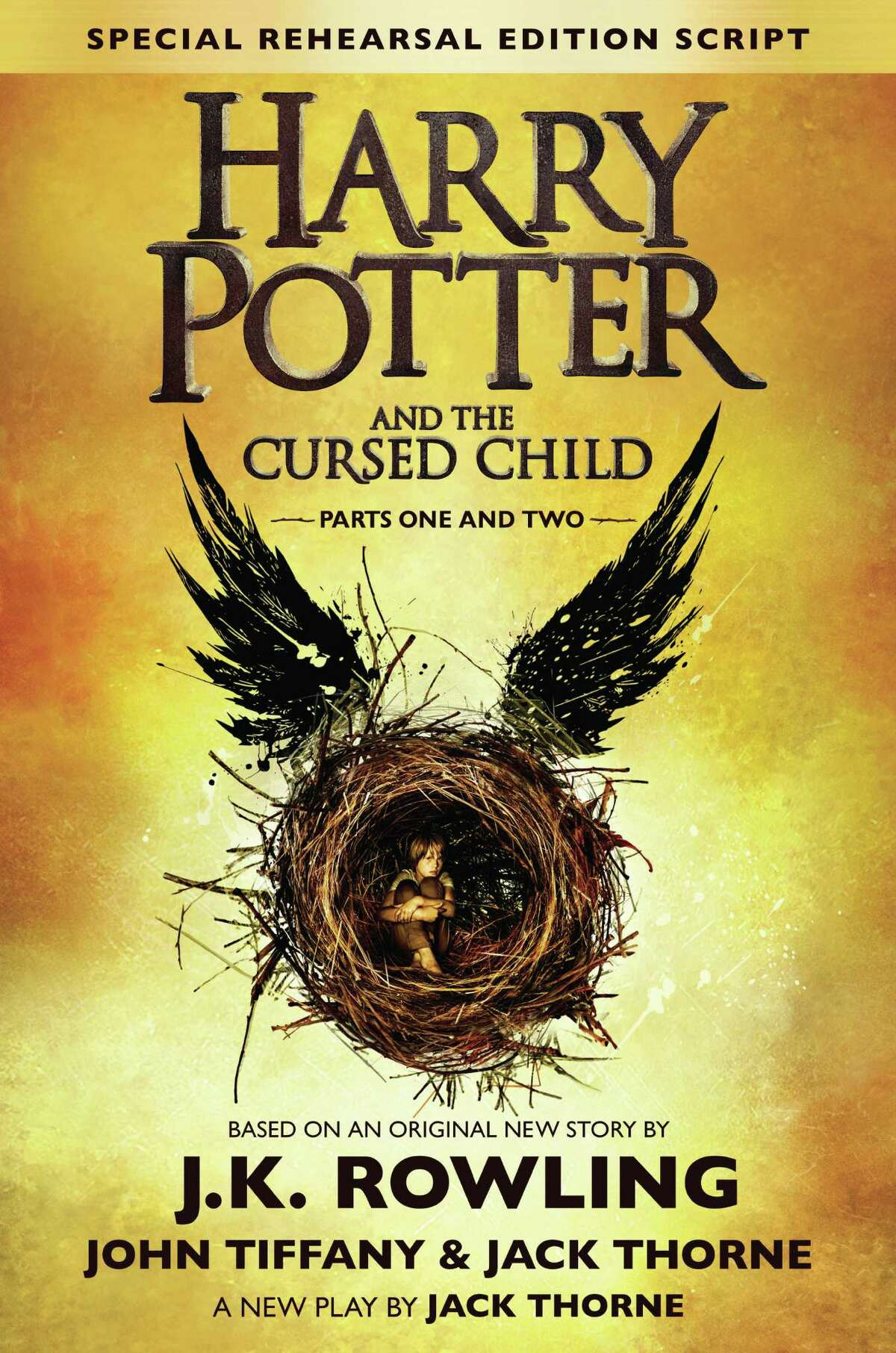 """The publication of """"Harry Potter and the Cursed Child - Parts I & II"""" will be celebrated during special book-release events Saturday, July 30, at the Fairfield Library and the Fairfield University Bookstore."""