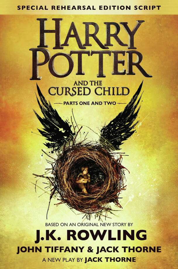 "The publication of ""Harry Potter and the Cursed Child - Parts I & II"" will be celebrated during special book-release events Saturday, July 30, at the Fairfield Library and the Fairfield University Bookstore. Photo: Book Cover Image Courtesy Of Fairfield University Bookstore / Contributed"