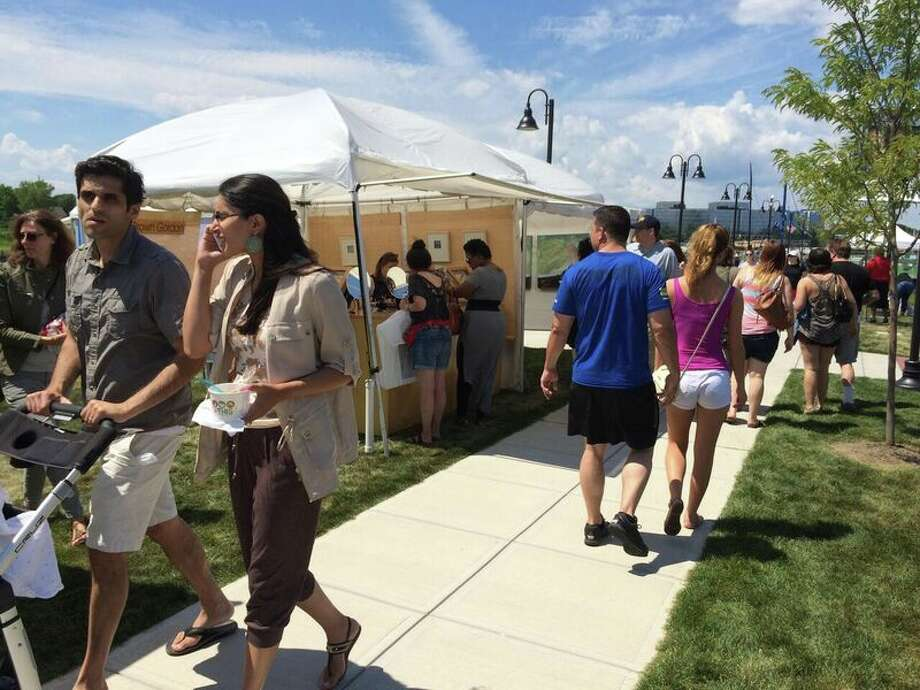 The second annual Stamford Arts Festival runs Saturday and Sunday, July 30 and 31, at scenic Harbor Point. Admission is free. Photo: Stamford Arts Festival / Contributed Photo