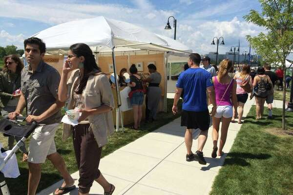 The second annual Stamford Arts Festival runs Saturday and Sunday, July 30 and 31, at scenic Harbor Point. Admission is free.