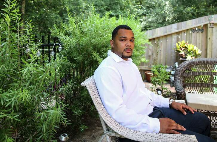 """Eldrian Walton, a laid-off energy worker, is seeking a job with steady, long-term work - even if that means a big pay cut. """"I'm done with offshore,"""" he says."""