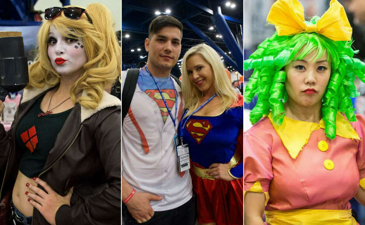 KEEP CLICKING TO SEE WHICH CITY ROCKED THEIR COMIC-CON COSTUMES BETTER.