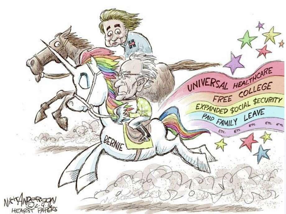 Democratic Primary Cartoons Photo: Nick Anderson