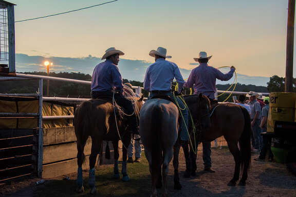 Team roping is a popular sport at Crider's Rodeo, where enthusiasts have also ridden bulls and raced around barrels since 1925.