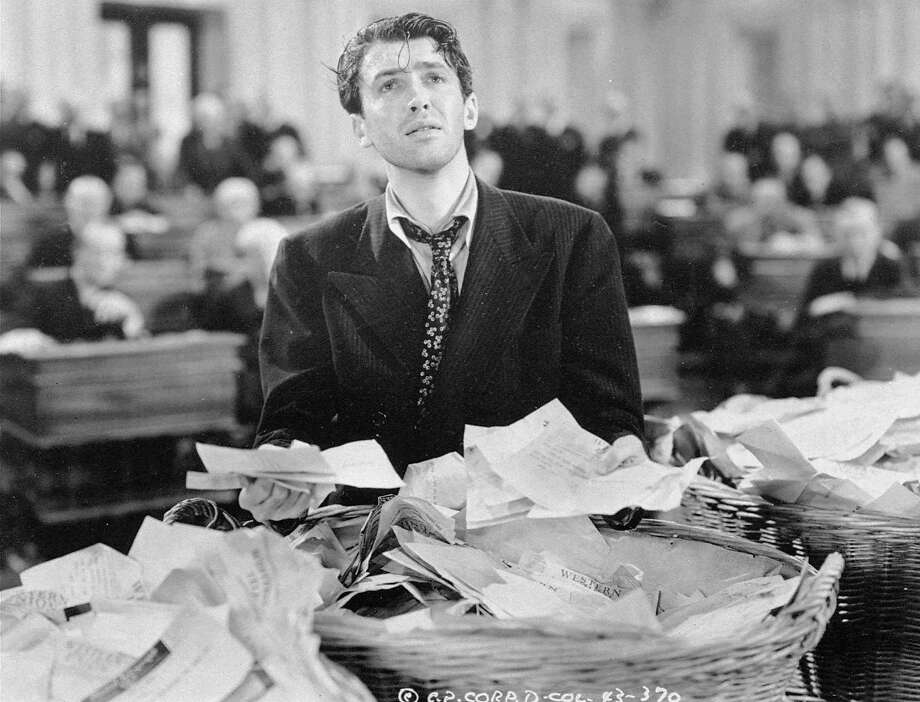 """James Stewart is shown in a scene from the 1939 film """"Mr. Smith Goes to Washington"""". Photo: Associated Press"""