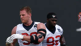 J.J. Watt will be doing plenty of exercises as he works his way back into form following surgery.