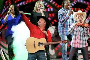 """Garth Brooks (shown performing July 22, 2016 at AT&T Center) and his wife Trisha Yearwood pretty much owned the AT&T Center for a weekend when the superstars returned for the first time in 18 years for a series of shows. The marathon concerts were epic. Brooks promised they'd be """"stupid good."""" They were."""