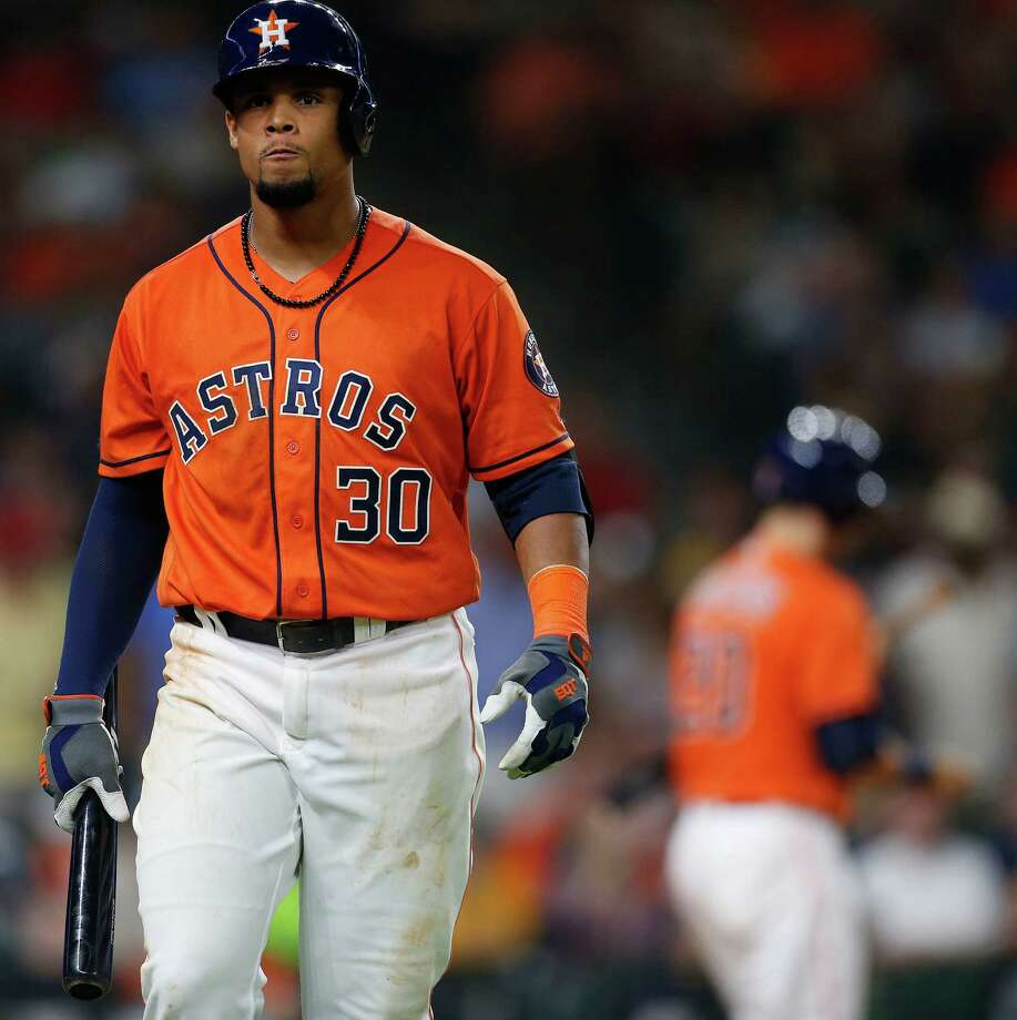 Before he was cut loose Wednesday, Carlos Gomez's rough 2016 season includes a pair of defensive blunders in Minnesota this week that cost the Astros in a loss to the Twins.Click through the gallery to see the most disappointing acquisitions in Astros history. Photo: Karen Warren, Houston Chronicle / © 2016 Houston Chronicle