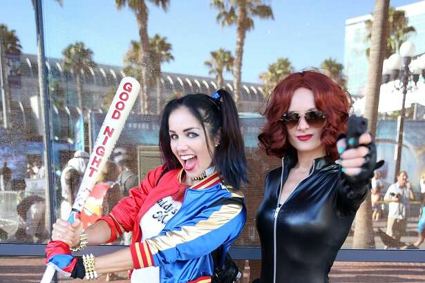 SAN DIEGO, CA - JULY 22: Cosplayers attend Comic-Con International 2016 on July 22, 2016 in San Diego, California.