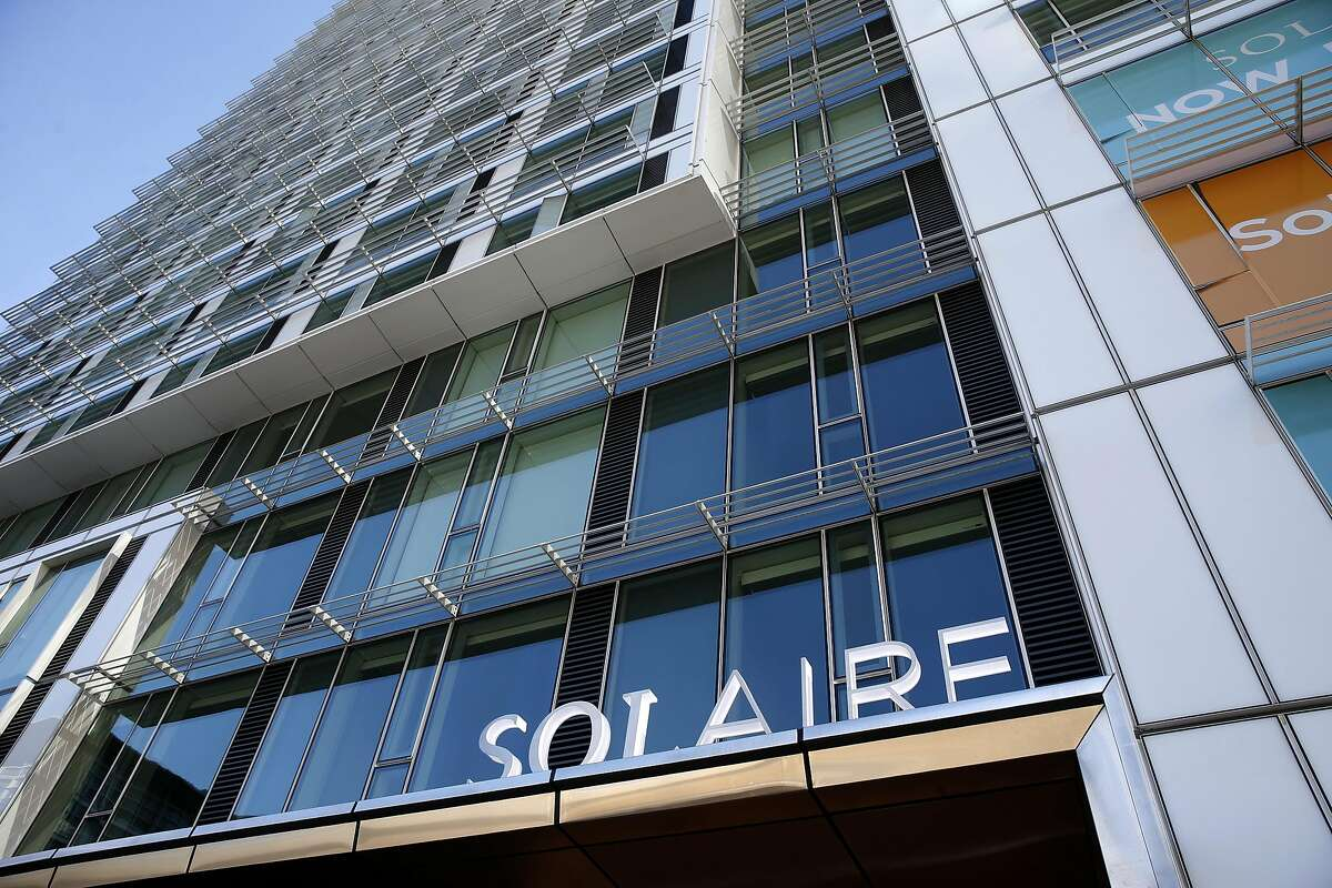 The new Solaire residential tower is seen at Folsom and Fremont streets in San Francisco, Calif. on Saturday, July 23, 2016.