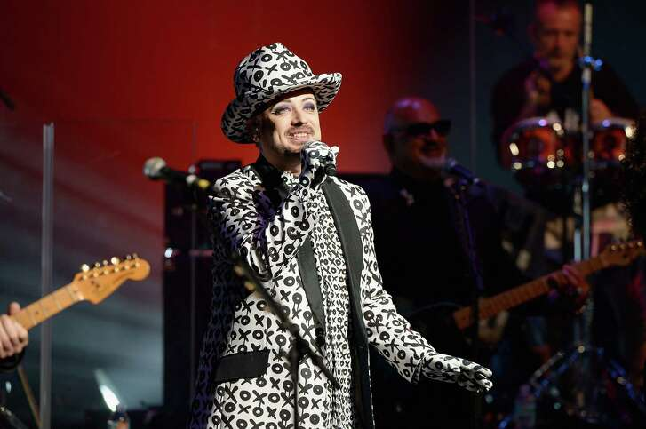 FORT LAUDERDALE, FL - JULY 08:  Singer Boy George of Culture Club  performs at Broward Center For The Performing Arts on July 8, 2016 in Fort Lauderdale, Florida.  (Photo by Gustavo Caballero/Getty Images)