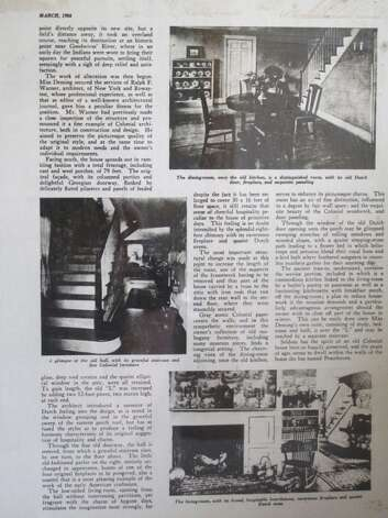 "The second page of a two-age article about the home on appletree Lane which ran in the March 1924 issue of ""Arts & Decoration"" Magazine. Photo: Contributed Photo / Darien News"