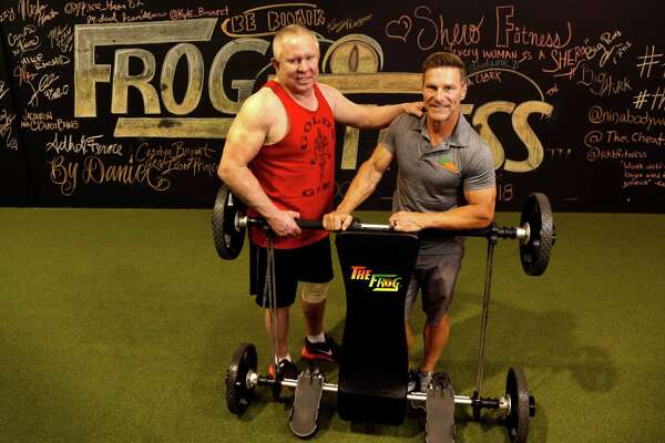 the frog jumps into the fitness game houstonchronicle com