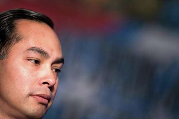 Secretary of Housing and Urban Development Julian Castro addresses the North American Building Trades Union National Legislative Conference April 19, 2016 in Washington, DC. / AFP PHOTO / Brendan SmialowskiBRENDAN SMIALOWSKI/AFP/Getty Images
