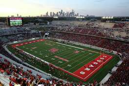 The Cougars football team is on the rise, with sales of season tickets for games at TDECU Stadium at 21,000 and increasing. The Cougars open at home against Oklahoma, a member of the Big 12, on Sept. 3.