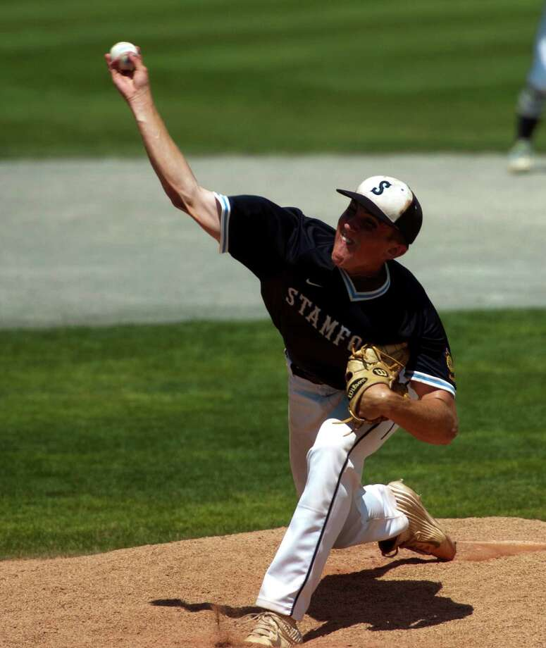 Stamford pitcher Michael White during American Legion Super Regional baseball playoff action against Cheshire in Middletown, Conn. on Saturday July 23, 2016. Photo: Christian Abraham / Hearst Connecticut Media / Connecticut Post