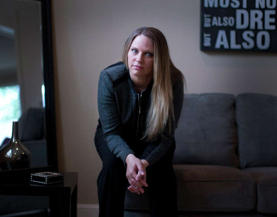 Brenda Tracy reported being the victim of sexual violence involving members of the Oregon State football team in 1998. She speaks as an advocate for victims. Photo: Beth Nakamura / handout