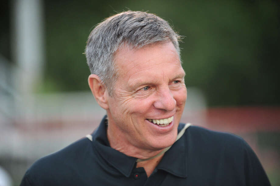 New Canaan football coach Lou Marinelli, will inducted into the Fairfield County Sports Hall of Fame this fall. Photo: Keelin Daly / Keelin Daly / Stamford Advocate